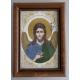 Св. Йоан Кръстител - бродирана икона